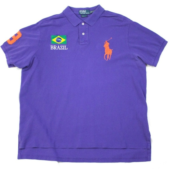 Polo by Ralph Lauren Other - Polo By Ralph Lauren Mens Short Sleeve Big Pony Br